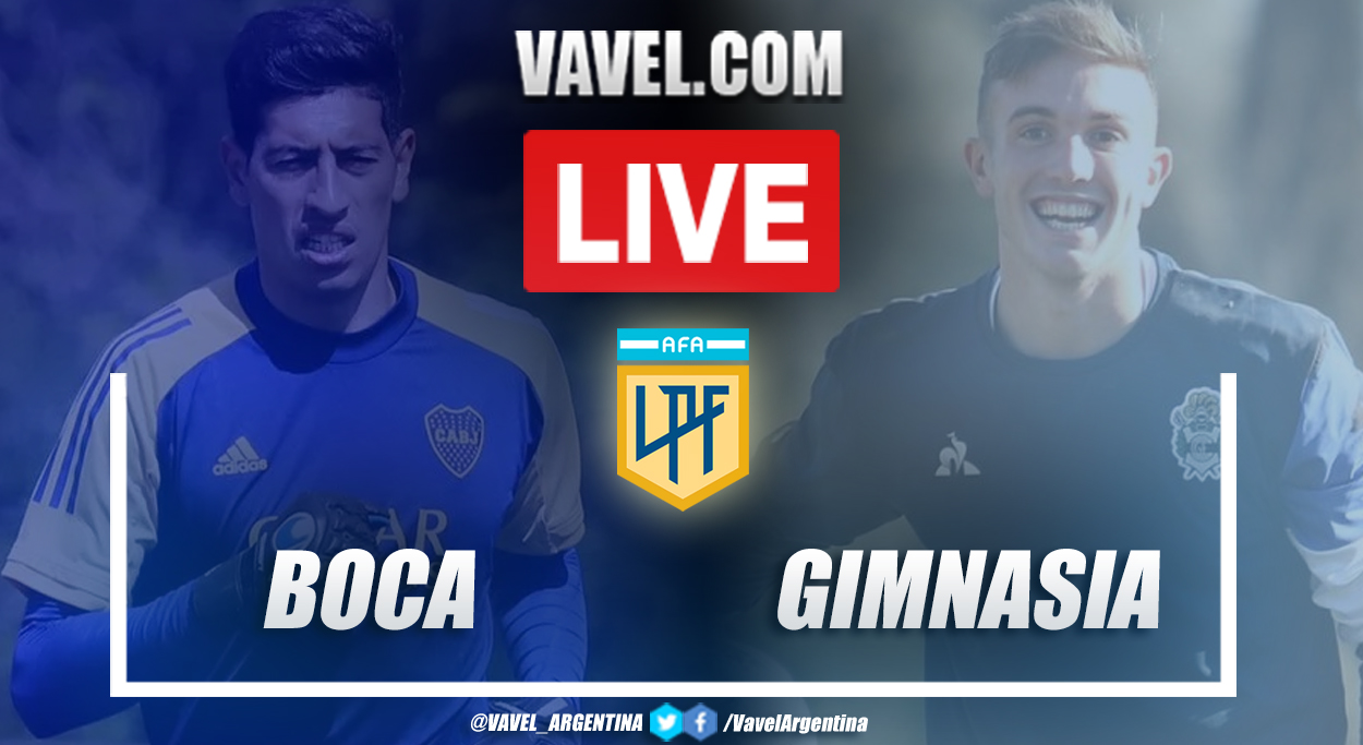 Resumen Boca Juniors (2-2) Gimnasia en la fecha 1 por Copa de la Liga Profesional 2021
