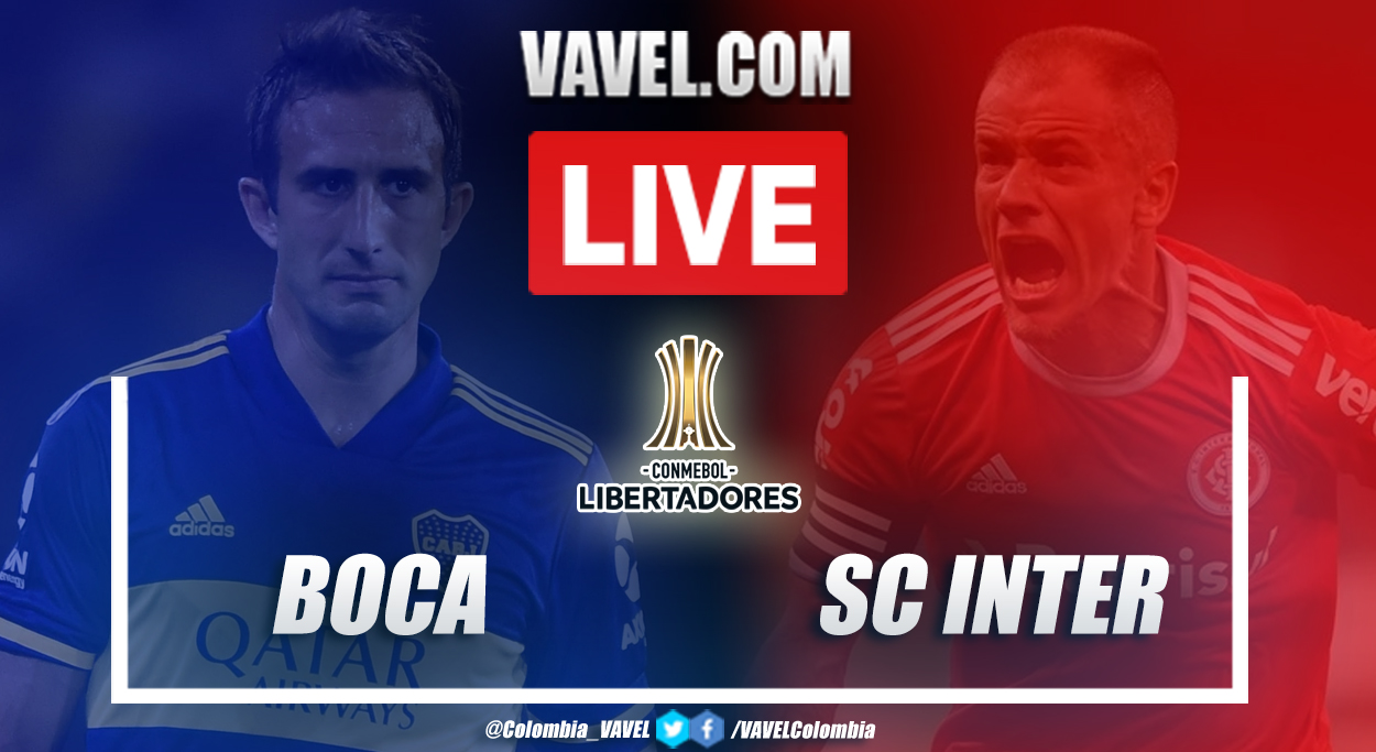 Resumen: Boca 1(5) - 1(4) Internacional en cuartos de final de Copa Libertadores 2020