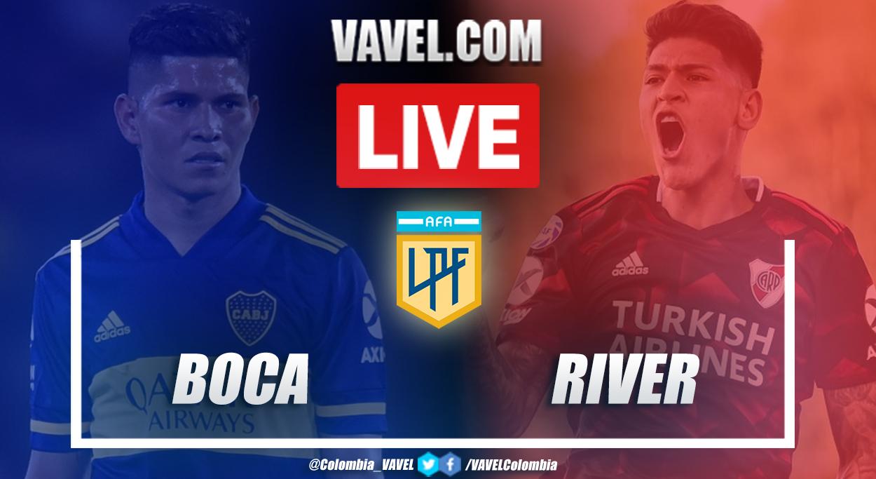 Resumen Boca vs River (2-2) en Copa Diego Armando Maradona