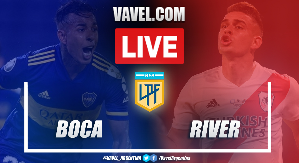 Goals and Highlights: Boca Juniors 1-1 River Plate in Superclasico 2021