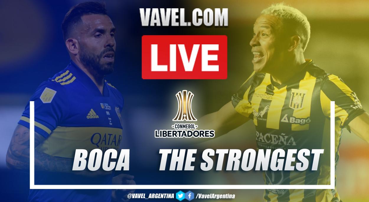Resumen Boca vs The Strongest (3-0) en la fecha 6 del grupo C por Copa Libertadores 2021