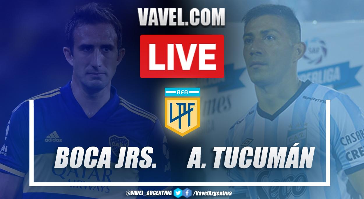 Resumen Boca vs Atlético Tucumán (3-1) en la fecha 10 por Copa de la Liga Profesional