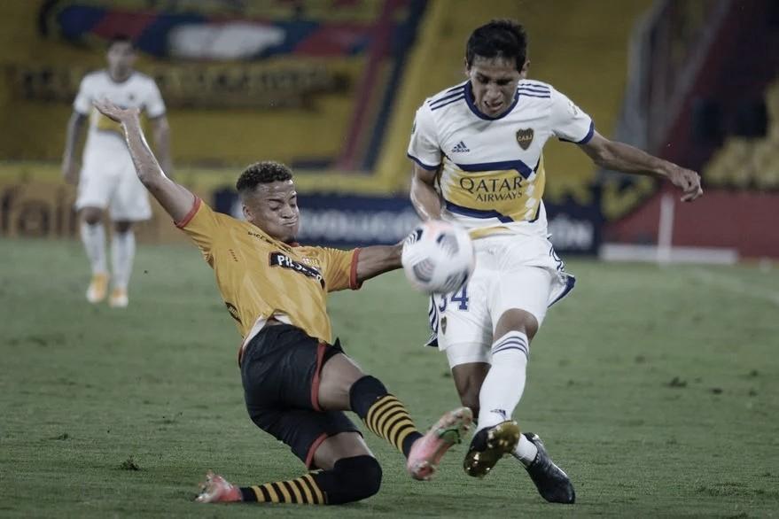 De visitante Boca cae 1 a 0 frente a Barcelona SC de Guayaquil.