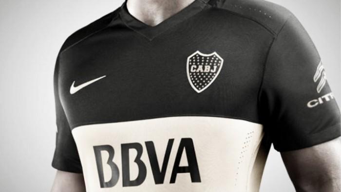 La nueva camiseta alternativa de Boca es de color negro