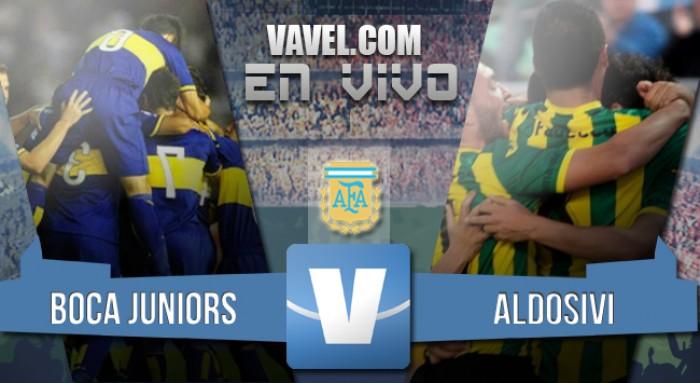 Boca Juniors 4 - Aldosivi 1: El equipo de Guillermo calienta motores para el Superclásico