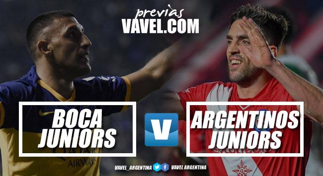 Previa Boca - Argentinos: La final del semestre