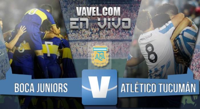 Resultado Boca - Atlético Tucumán (0-1)
