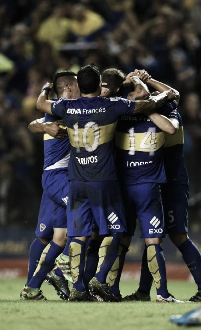 Primer triunfo Xeneize en la Libertadores