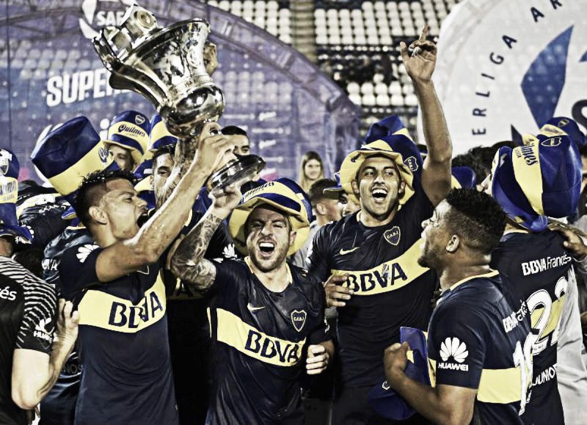Los títulos de Boca Juniors: el último campeón argentino