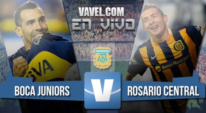 Resumen y goles Boca Juniors vs Rosario Central por el Torneo de la Independencia 2016 (1-1)
