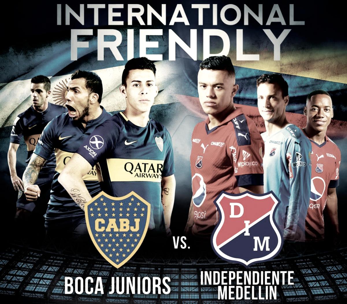 Boca - Independiente Medellín, la previa
