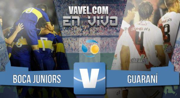 Resultado Boca Juniors - Guaraní Antonio Franco 2015 (4-0)