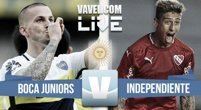 Resultado Boca 3-0 Independiente en Liga Argentina 2017