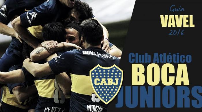 Guía Boca Juniors 2016: por una nueva conquista de América