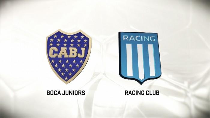 Como llega Boca ante Racing