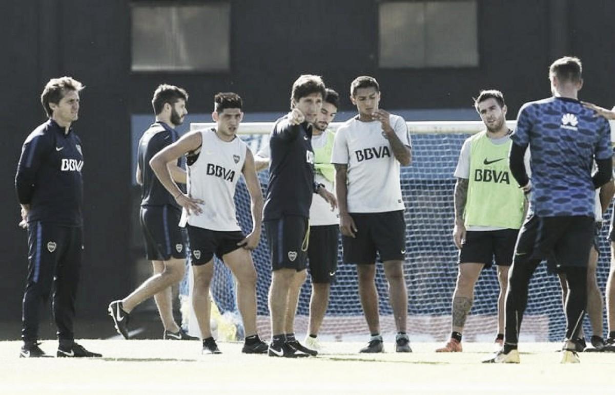 Posible 11 de Boca para enfrentar a Talleres