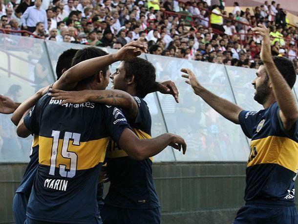 Resultado Boca Juniors - Zamora por la Copa Libertadores 2015 (5-0)