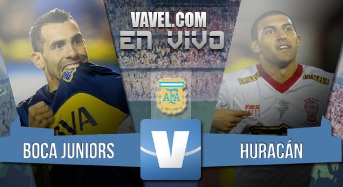 Boca 0-0 Huracán: un empate y nada más