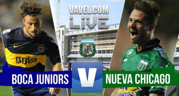 Resultado Boca Juniors - Nueva Chicago 2015 (0-0)