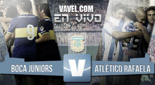 Resultado Boca Juniors - Atlético Rafaela 2015 (1-0)