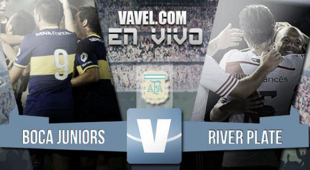 Resultado Boca - River por el Campeonato Argentino 2015 (2-0)