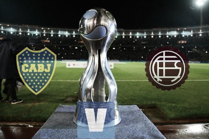 Resultado y goles Boca vs Lanús en Copa Argentina (2-2)