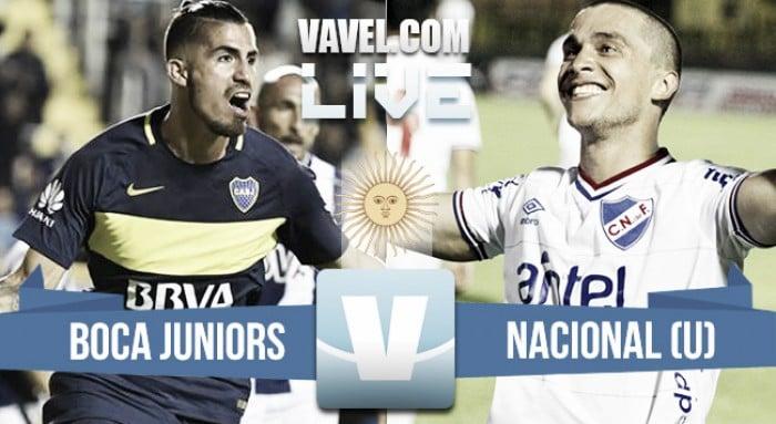 Resultado Boca 1-1 Nacional de Uruguay en amistoso 2017