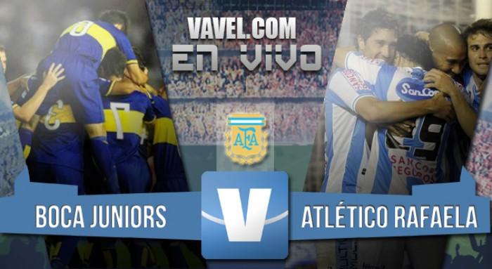 Resultado de Boca - Atlético Rafaela por el Torneo de Transición 2016 (3-0)
