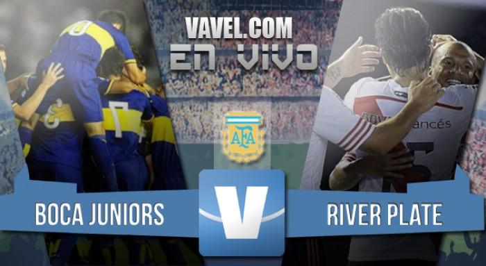 Resultado Boca 0-1 River en Liga 2016: los millonarios pegan primero