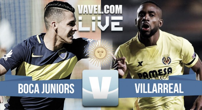 Resumen y gol Boca vs Villarreal (1-0)
