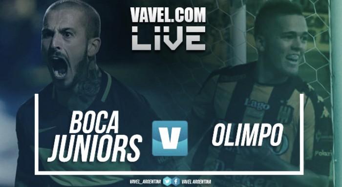 Boca Juniors VS Olimpo por la Superliga (3-0)