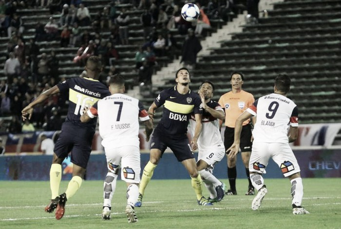 El partido de Boca contra San Lorenzo