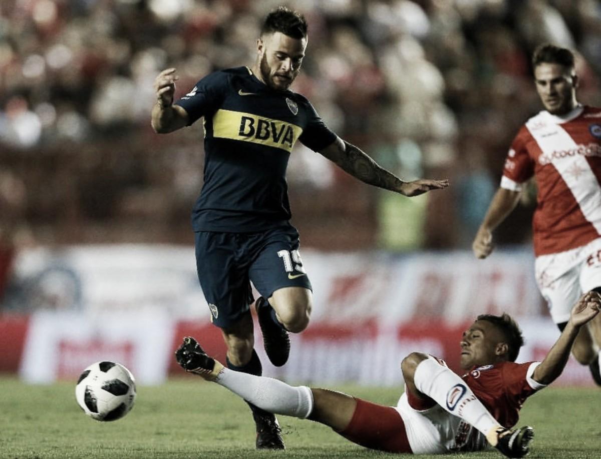 Líder da SuperLiga, Boca tropeça diante de Argentinos Juniors