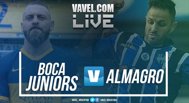 Resultado final Boca Juniors vs Almagro por Copa Argentina 2019