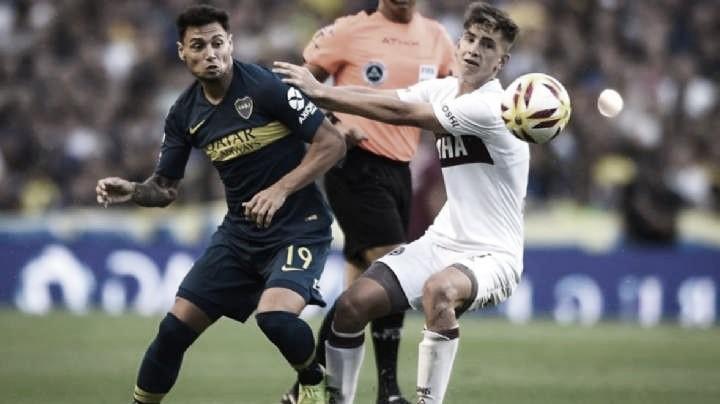 Boca prepara cambios para jugar contra Lanús
