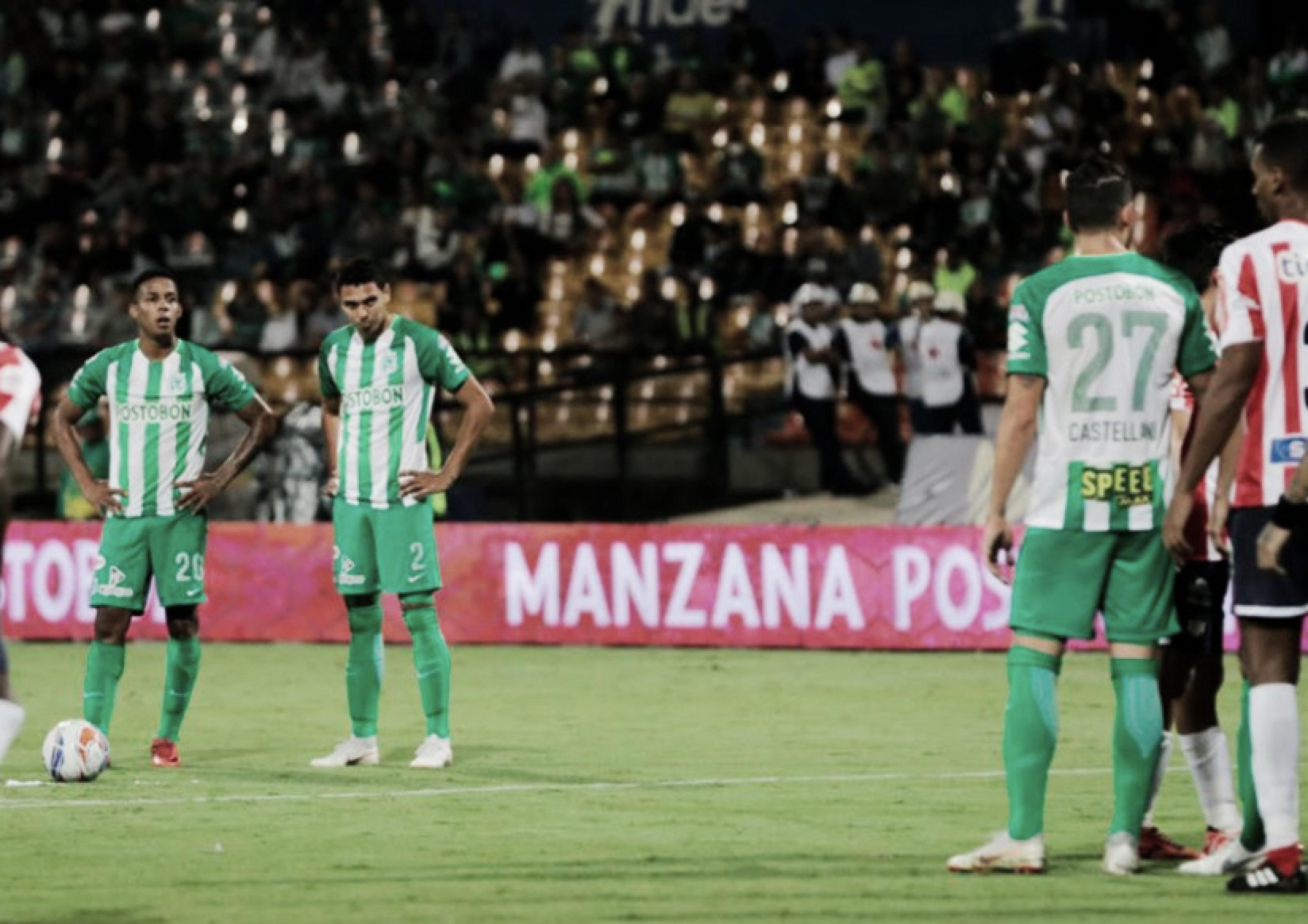 Con ventaja corta, Nacional se impuso ante Junior en el Atanasio