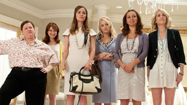 'La boda de mi mejor amiga' arrasa en los 'Comedy Awards 2012'