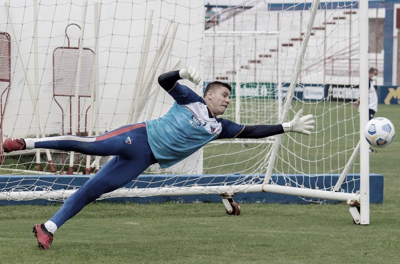 Marcelo Boeck destaca concentração do Fortaleza para reta final do Campeonato Cearense