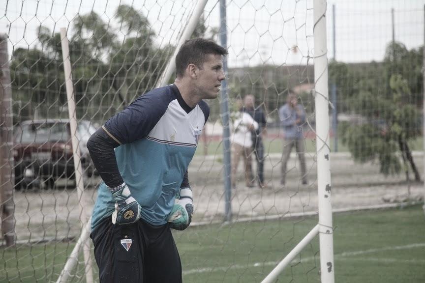 Goleiro do Fortaleza, Marcelo Boeck cita 'situação delicada' por conta do coronavírus