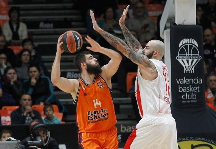 Valencia cae ante Estrella Roja y sigue sin levantar cabeza en Euroliga