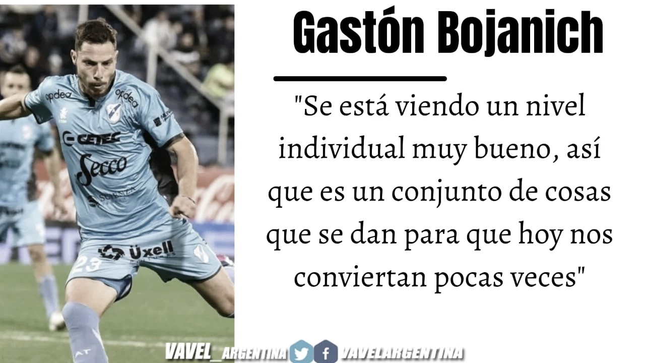 Gastón Bojanich: ''Ojalá que San Martín nos salga a buscar de entrada''