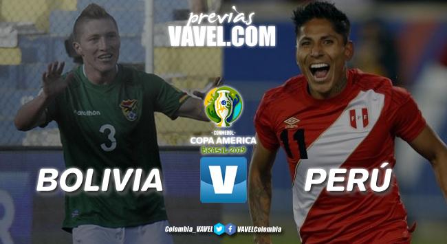 Previa Bolivia vs Perú: dos que se juegan la vida en la Copa América 2019