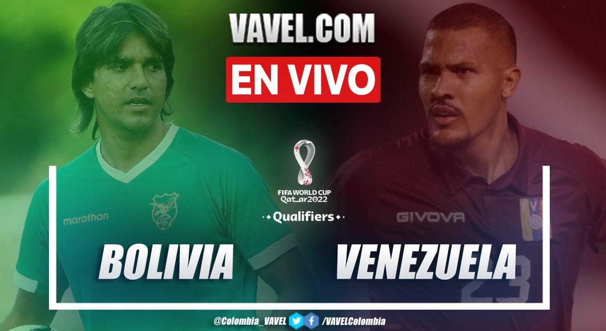 Resumen Bolivia vs Venezuela (3-1) en la fecha 7 por eliminatorias a Catar 2022