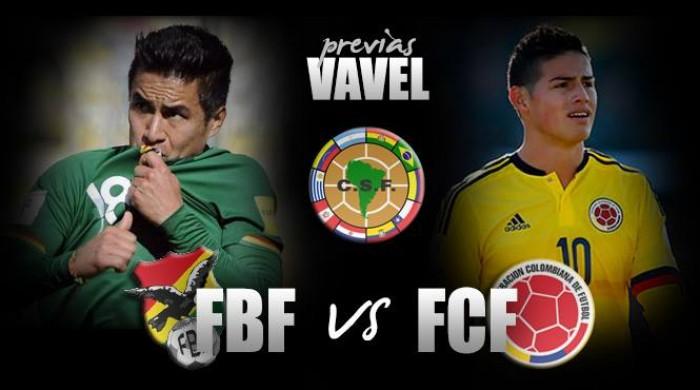 Previa Bolivia - Colombia: tres puntos vitales en juego