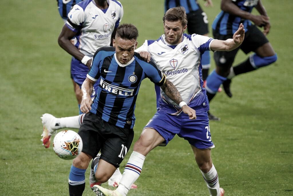 Com grande primeiro tempo, Inter vence Sampdoria em Milão