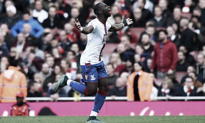 Arsenal 1-1 Crystal Palace: Eagles come away with a point as Bolasie profits from late Cech error