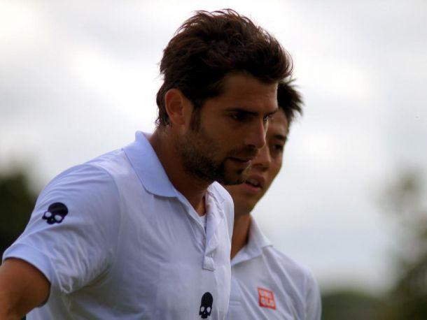 Risultato Bolelli - Nishikori, Wimbledon 2015 2-3 (3-6; 7-6 (4); 2-6; 6-3; 3-6)