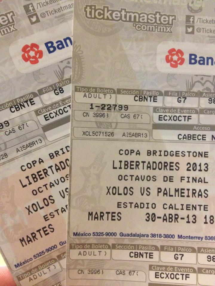 Da inicio la venta general de boletos para el encuentro Xolos - Palmeiras