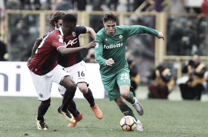 Fiorentina supera Bologna e quebra jejum de vitórias na Serie A em jogo com dois gols olímpicos