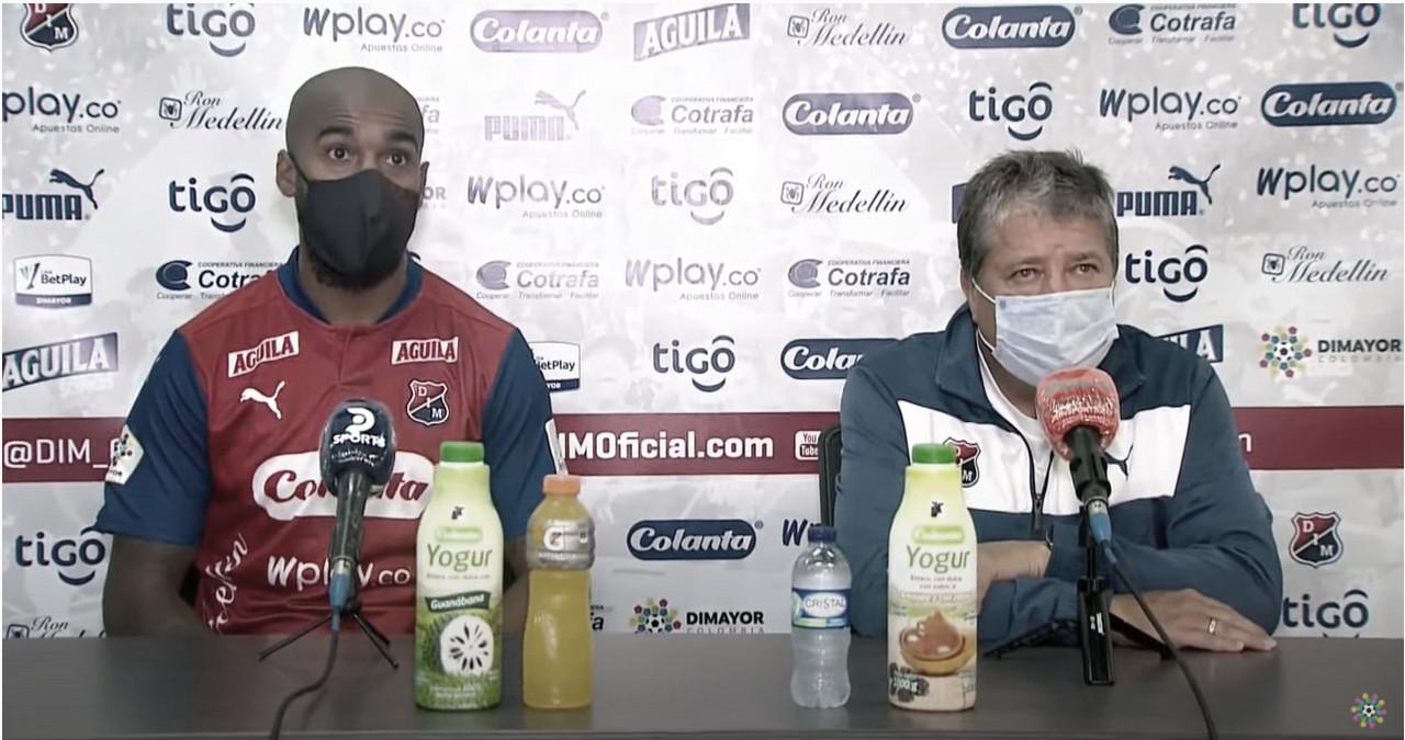 """Hernán Darío Gómez: """"El equipo estuvo relajado, falta mucho trabajo"""""""